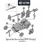 SAS Jeep (NW Europe) – Construction Diagram