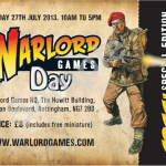 Warlord Games Day tickets & special miniature