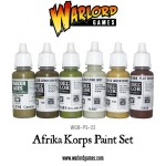 New: Deutsches Afrika Korps & British 8th Army paint sets