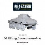New: Sd.Kfz 234/1 2cm armoured car