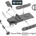 German Waffen-SS Quad Flak – Construction Diagram