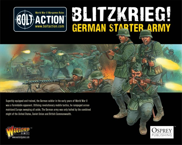 New: Blitzkieg! German Heer starter army boxed set