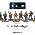 New: Soviet Partisan Squad