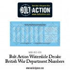 New: Bolt Action Decal sheets