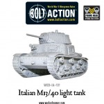 New: Italian M13/40 light tank