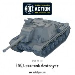 New: Soviet ISU-122 tank destroyer!