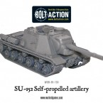 New: Soviet ISU-152 self-propelled artillery!