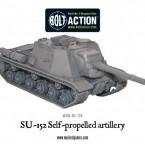 New: Soviet ISU-152 self-propelled artillery!