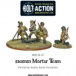 New: Soviet 120mm heavy mortar team