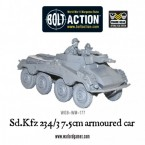 New: German Sd.Kfz 234/3 armoured car