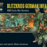 Pre-order: Blitzkrieg German Infantry plastic box set