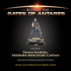 Beyond the Gates of Antares: the Game Setting