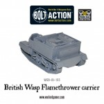 New: British Wasp Flamethrower carrier