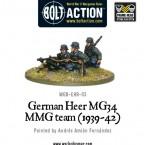 New: German Heer MG34 MMG (1939-42)