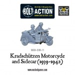 New: Kradschützen Motorcycle and Sidecar (1939-1942)