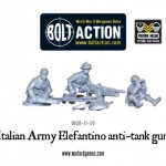 New: Italian 47mm Elefantino anti-tank gun