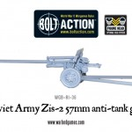 New: Soviet Army Zis-2 57mm anti-tank gun