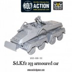 New: Sd.Kfz 233 armoured car