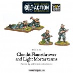 New: Chindit Flamethrower and Light Mortar teams