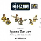New: Bolt Action Japanese tank crew