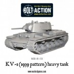 New: KV-1 (1939 pattern) heavy tank