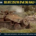 New: Sd.Kfz 251/10 half-track (3.7cm PaK)