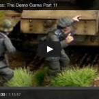 Video: Bolt Action demo game by Beasts of War