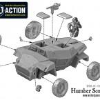 Humber Scout Car – Construction Diagram