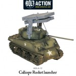 New: Bolt Action Calliope multiple rocket launcher