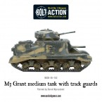 Highlight: M3 Grant Medium Tank with Track Guards
