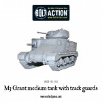 New: M3 Grant medium tank with trackguards