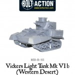 New: Bolt Action Vickers light tanks for the Western Desert