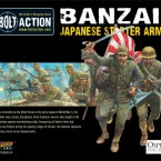 New: Banzai! Imperial Japanese Army starter army boxed set