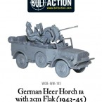New: Bolt Action Horch 1a with 2cm Flak