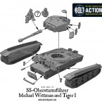 German Tiger I ausf E & Michael Wittmann – Construction Diagram