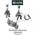 Kradschutzen Motorcycle (1939-1942) – Construction Diagram