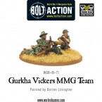 New: Gurkhas boxed set and Vickers MMG team