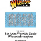 New: Wehrmacht Licence plates decal sheets