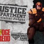 New: Judge Dredd miniatures