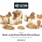 New: Battle Ready Ruined North African Houses