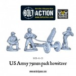 New: US Army 75mm pack howitzer