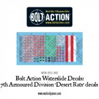 New: Bolt Action vehicle decals