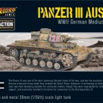 New: Panzer III Ausf J medium tank