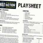 Updated Bolt Action FAQ & Playsheet