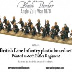 Anglo-Zulu War: Historical British Regiments