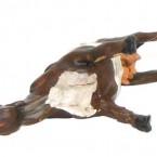 Hobby: John Stallard holds his horses
