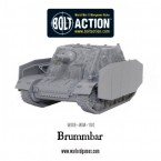 New: Brummbär heavy assault gun