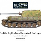 New: Sd.Kfz 184 Ferdinand heavy tank destroyer