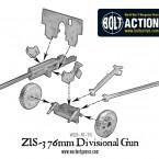 Soviet Zis-3 Divisional gun – Construction Diagram