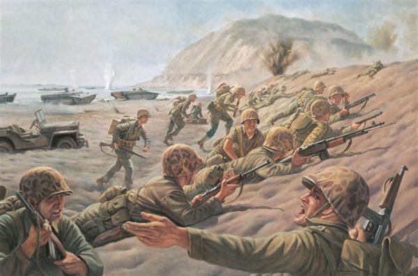 History Battle For Iwo Jima 1945 Warlord Games